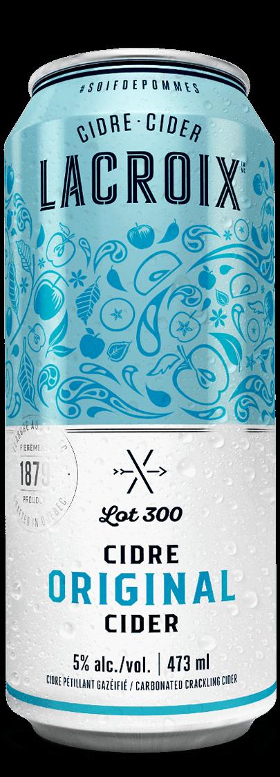 Cannette Lacroix Original Lot 300