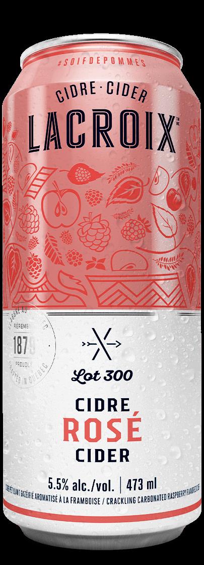 Cannette Lacroix Rosé Lot 300